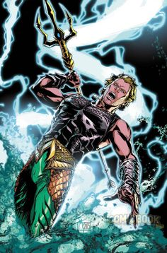 (DC COMICS) Aquaman by Trevor McCarthy