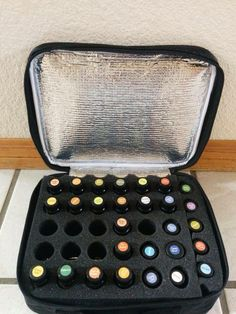 Cool Case Thermal .... What a great way to store/carry your essential oils! |||. For more information about essential oils, LIKE my FB page:  Facebook.com/EssentialDropsCS
