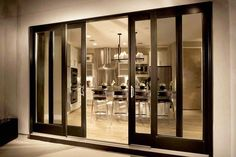 Сдвижные двери: 15 примеров нового тренда