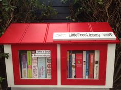 little free library Little Free Libraries, Little Library, Free Library, Library Ideas, Library Books, Public Libraries, Home Libraries, Dot Org, Lending Library