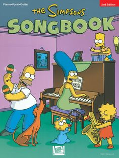 Simpsons Song Book