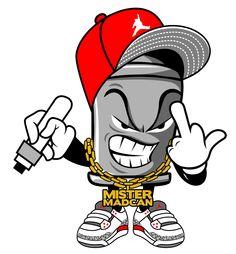 MAD CAN. son of Graffiti artist brim TATs, Blood line . we know u love GRAFFITI art just as much as our family. Graffiti Piece, Love Graffiti, Graffiti Wall Art, Graffiti Font, Graffiti Drawing, Graffiti Artists, Graffiti Cartoons, Dope Cartoons, Graffiti Characters