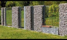 gabion wall architecture - Google Search                                                                                                                                                                                 More