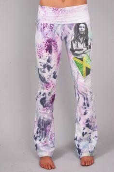 830 JamRok Custom Yoga Pants por COUTURETEEdotCOM en Etsy