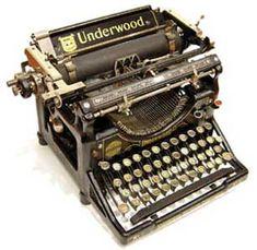 vintage typewriters are super cool
