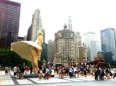 Marilyn Monroe Statue, Chicago, IL