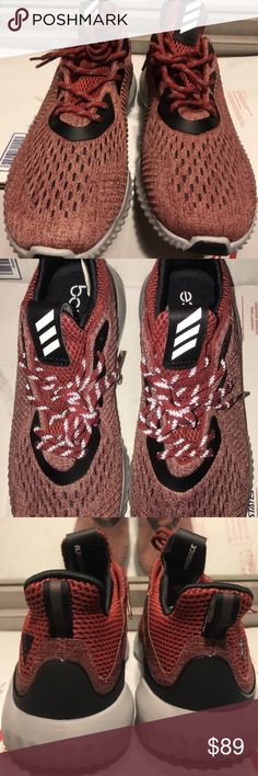 6d29de877241d NEW ADIDAS ALPHABOUNCE EM RED BLACK RUNNING SHOES NEW ADIDAS ALPHABOUNCE EM  RED BLACK RUNNING SHOES MEN S 13 With their comfortable
