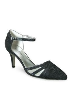 David Tate Black Ava Dress Pump