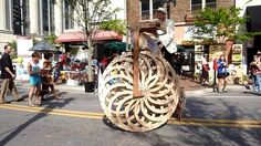 Boneshaker Big Wheel by Ron Schroer. This was created from video shot at OneSpark in Jacksonville.