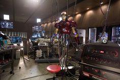 Get The Look: Iron Man/Tony Stark's Man Cave — The Tech & Design Source Book