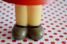 """Muñeca de goma vintage """"pequeña Lulú"""" http://amorporladecoracion.blogspot.com.es/2014/03/macro-del-dia-lulu.html"""