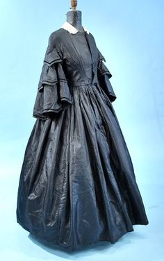 All The Pretty Dresses: American Civil War Era Mourning Gown