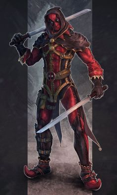 #Deadpool #Fan #Art. (DP Jester) By: 4cend.