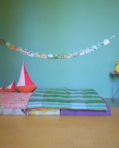 floor bed #montessori