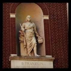 Ben Franklin.  But where is this?
