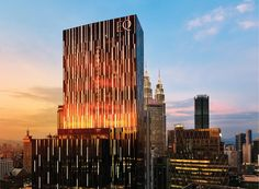 The 52 floor building (with the hotel occupying the top half) replaces the iconic 1970s Equatorial Plaza Hotel.
