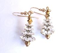 Hey, I found this really awesome Etsy listing at https://www.etsy.com/listing/116579540/christmas-tree-earrings-silver-and-gold