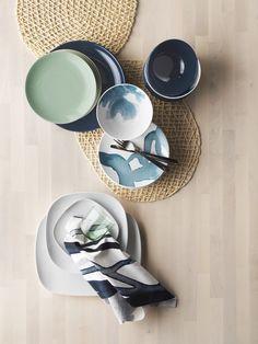 SAMTLIGA placemat | IKEAcatalogus nieuw 2018 IKEA IKEAnl IKEAnederland eten drinken maaltijd eetkamer keuken ontbijtbar BEHAGA bordje servies kom VÄRDERA bord servies