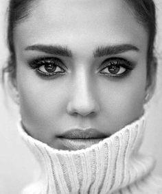 "# Photographer: Adam Franzino @adamfranzino Model: Jessica Alba @jessicaalba photo shoot for ""Shape"" @shape . #instabwgirls #magiceyes #bw #bnw"