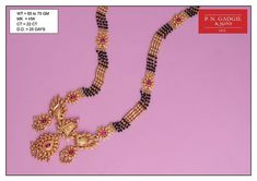 P N Gadgil & Sons - PNG: Buy Exclusive Gold Mangalsutra Designs in Pune, India. Available short daily use, Fancy Designer Mangalsutra with best price. Gold Temple Jewellery, Gold Jewellery Design, Gold Jewelry, Gold Ruby Necklace, Mens Ring Designs, Gold Chain Design, Gold Mangalsutra Designs, Fashion Jewellery Online, Jewelry Model