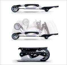 Caseboard foldable electric skateboard as seen on shark for Shark tank motorized skates