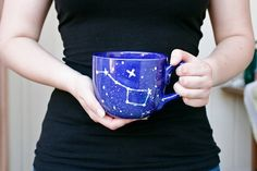 28oz Big Dipper Mug - Constellation Night Sky & Stars -
