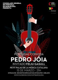 Graphisms , Typography , Infographics and Design - Concert Poster by Ana Seixas, via Behance - CoDesign Magazine Event Poster Design, Event Posters, Graphic Design Posters, Graphic Design Illustration, Guitar Posters, Concert Posters, Banners Music, Jazz Poster, Music Flyer