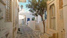 Paroikia town,Paros island,Greece