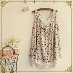 Buy 'Fairyland – Floral Tie-Back Tank Top' with Free International Shipping at YesStyle.com. Browse and shop for thousands of Asian fashion items from China and more!