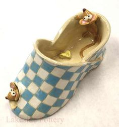 ceramic shoe children slab project