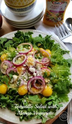 Tomatillo Salad with