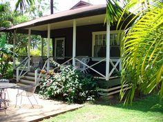 Hawaiian cottage. I will have a small, house on a Hawaiian coast someday. (me too!)