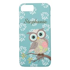 Cocking Head New Fancy Owl iPhone 7 Case