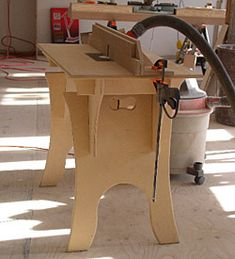 Build a Knockdown Router Table