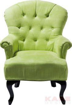 Stuhl mit Armlehne Cafehaus Grün #kare #design #Sessel #wien #grün #green #design #kareaustria #karedesign