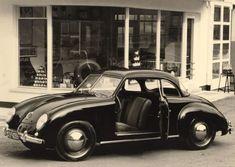 [ 1950 Volkswagen 1200 Type 1 Coupe - Coachwork by Dannenhauer & Stauss Karosserie of Stuttgart ] Fancy Cars, Cool Cars, Jaguar, Peugeot, Lamborghini, Auto Volkswagen, Benz, Bmw Classic Cars, Porsche Classic
