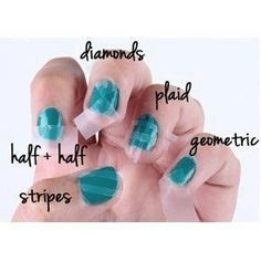 different ways to design nails