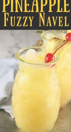Pineapple Fuzzy Navel is a super simple and delicious party cocktail! Perfect mixed drink with just 3 ingredients! Pineapple Fuzzy Navel is a super simple and delicious party cocktail! Perfect mixed drink with just 3 ingredients! Easy Mixed Drinks, Mixed Drinks Alcohol, Alcohol Drink Recipes, Mix Drinks With Vodka, Mixed Drinks With Fireball, Mixed Drink Recipes, Beer Mixed Drinks, Summer Mixed Drinks, Fruity Mixed Drinks