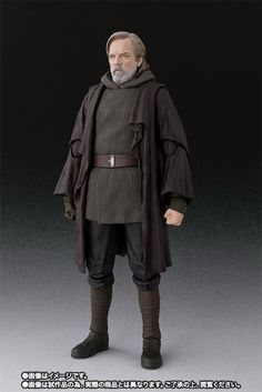Buy S.H.Figuarts Star Wars Luke Skywalker (THE LAST JEDI) (Limited) with other merchandises now and get special offer! Published by Bandai. Star Wars Luke Skywalker, Leia Star Wars, Star Trek Kostüm, Star Wars Rpg, Star Wars Toys, Sailor Jupiter, Sailor Mars, Aragorn, Sailor Mercury