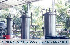 This is the mineral water processing machine
