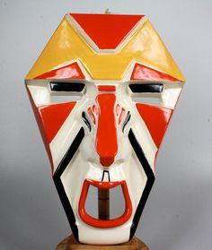 Clarice Cliff - masker - Keramiek- en glasveiling - Keramiek en glas veilen of kopen op de Catawiki veiling