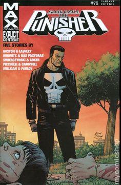 Punisher (2004 7th Series) Max 75B Marvel Comics Modern Age Comic book covers Super Heroes Villians