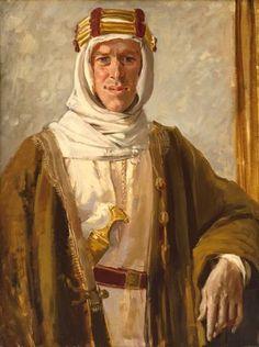 John, Augustus (1878-1961) - 1919 Colonel T.E. Lawrence by RasMarley, via Flickr