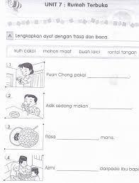 100 Best Latihan Bm Tahun 1 Images Bahasa Melayu Tatabahasa Prasekolah