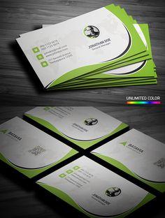 Stylish Corporate Business Card