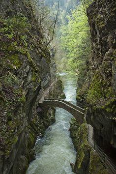 Gorges de l'Areuse,Switzerland.
