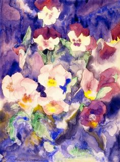 Charles Demunth, Pansies, 1915