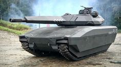 FUTURE MILITARY MACHINES - COOL POLISH OBRUM PL-01 TANK CONCEPT SCHEDULED FOR PRODUCTION IN 2018!