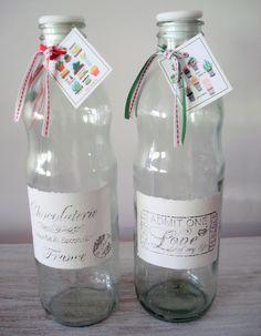 Botellas De Salsa De Tomates Manualidades Jar Ideas Y Canning