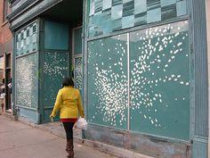 Nadine Faraj Oeuvre D'art, Les Oeuvres, Garage Doors, Urban, Outdoor Decor, Home Decor, Street Art, Exterior Decoration, Decoration Home